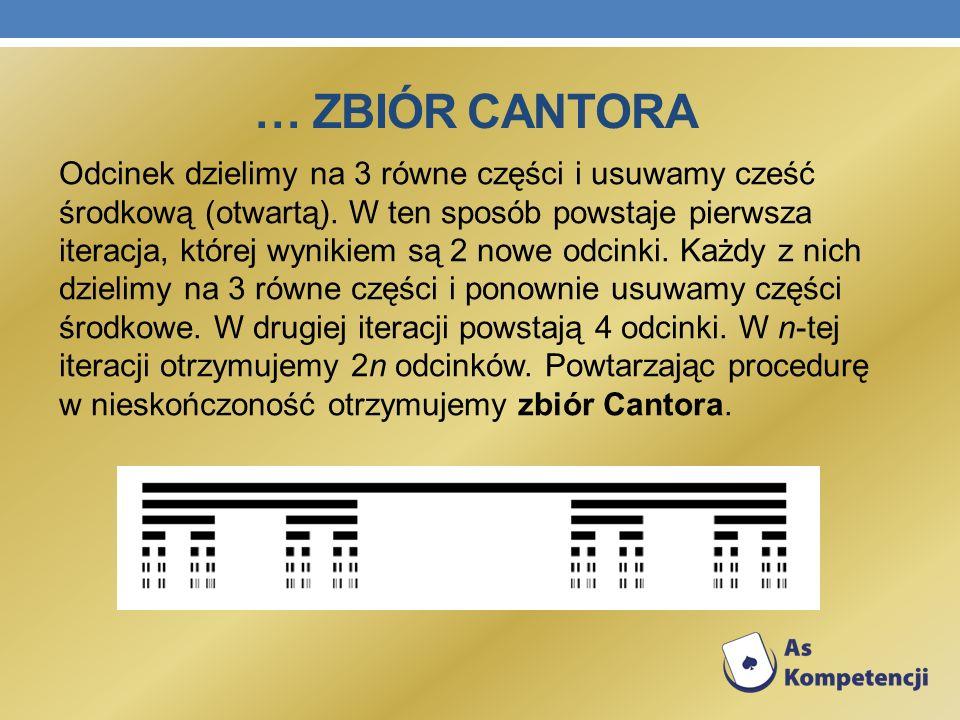… Zbiór cantora
