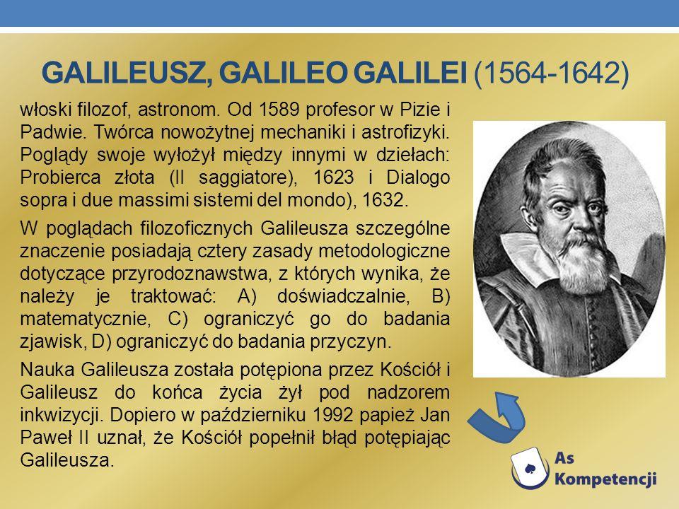 Galileusz, Galileo Galilei (1564-1642)