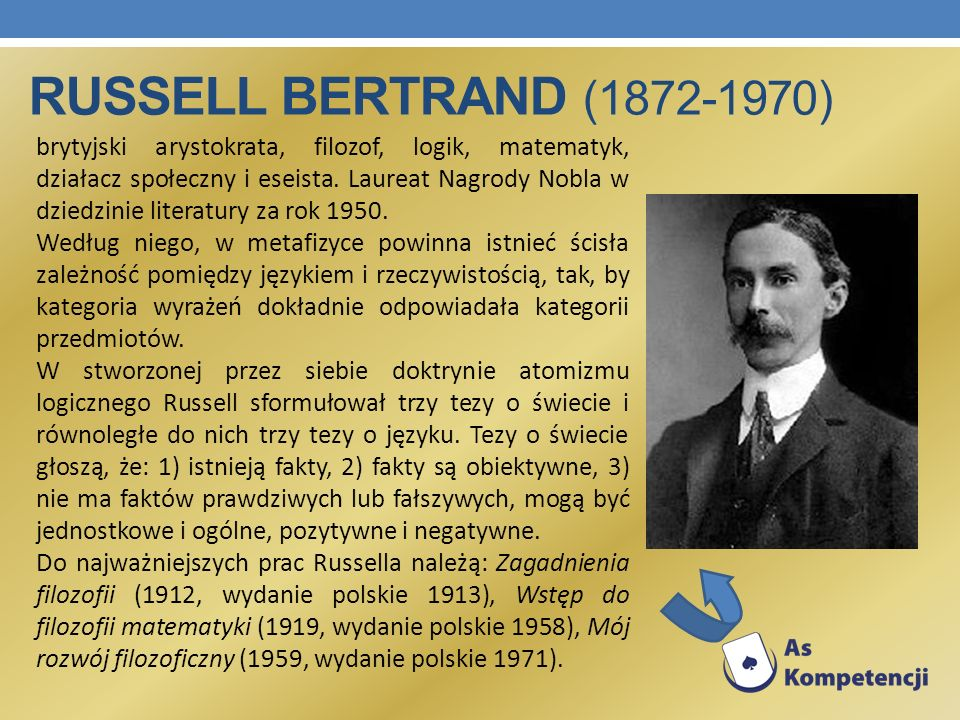 Russell Bertrand (1872-1970)