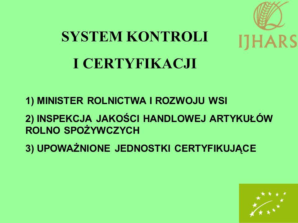 SYSTEM KONTROLI I CERTYFIKACJI