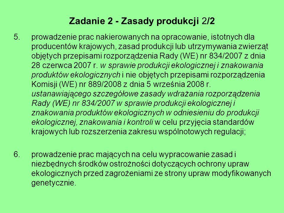 Zadanie 2 - Zasady produkcji 2/2