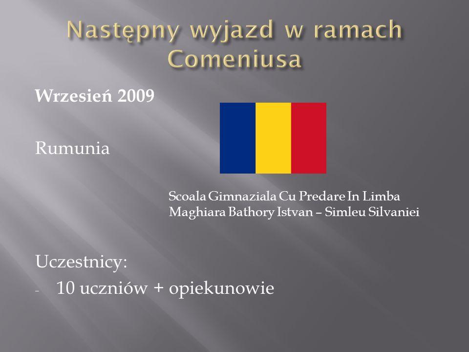 Następny wyjazd w ramach Comeniusa