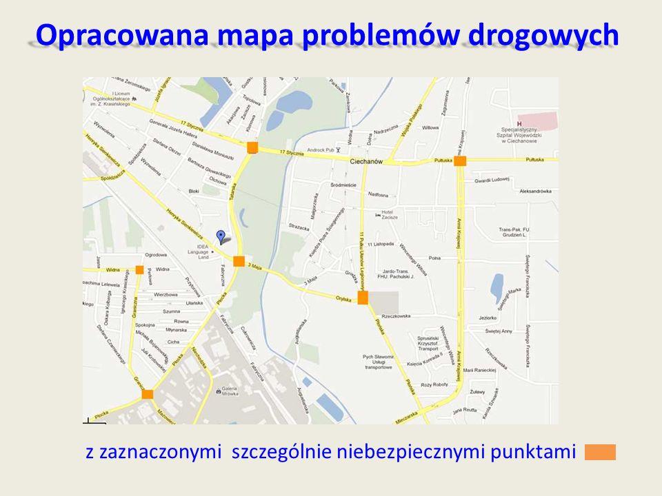 Opracowana mapa problemów drogowych