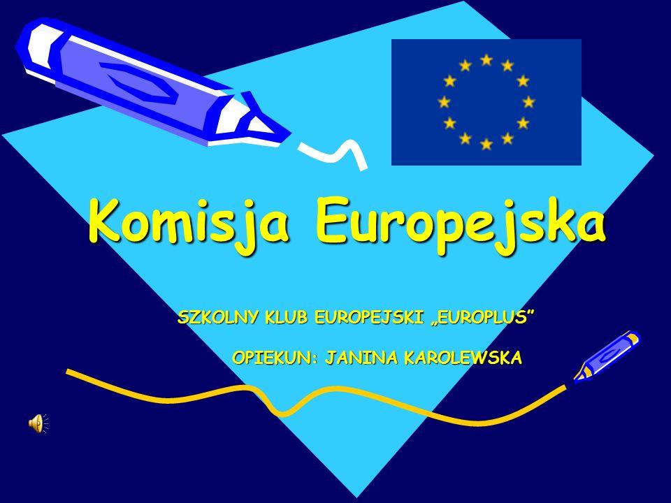 "SZKOLNY KLUB EUROPEJSKI ""EUROPLUS OPIEKUN: JANINA KAROLEWSKA"