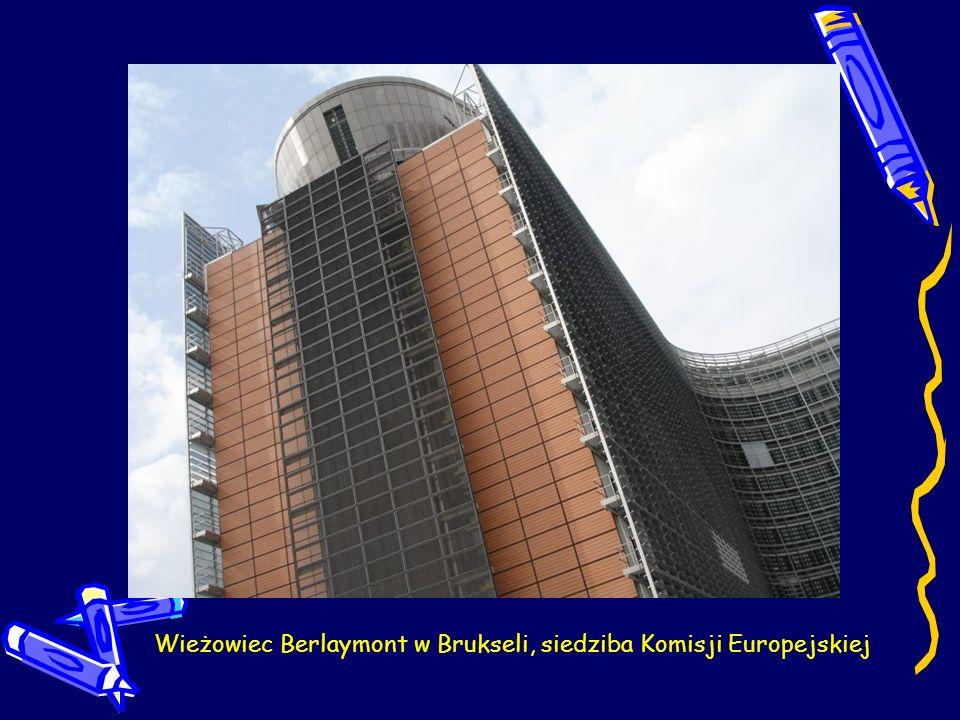Wieżowiec Berlaymont w Brukseli, siedziba Komisji Europejskiej