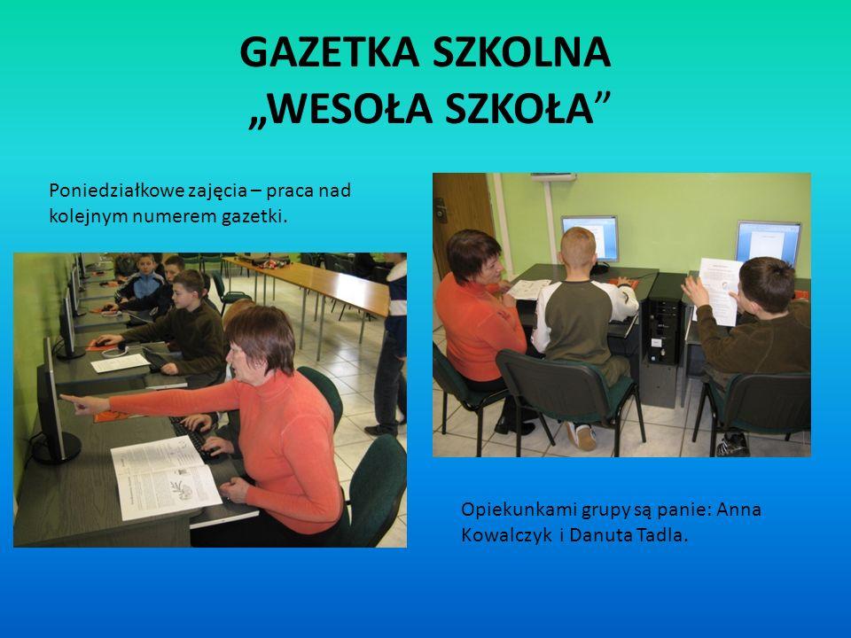 """GAZETKA SZKOLNA """"WESOŁA SZKOŁA"""