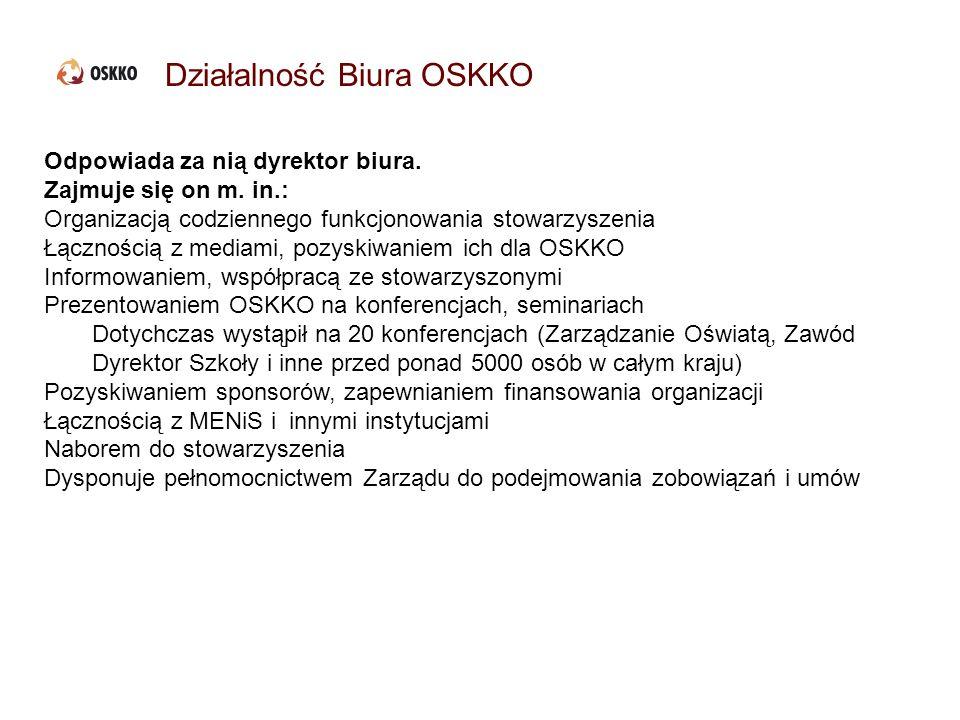 Działalność Biura OSKKO