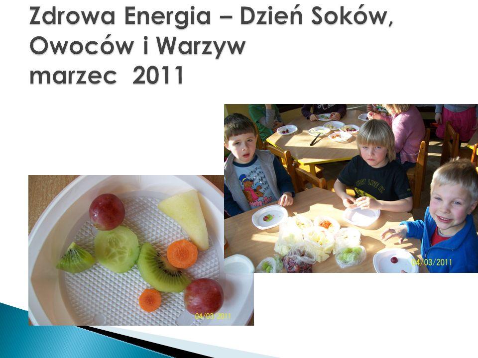 Zdrowa Energia – Dzień Soków, Owoców i Warzyw marzec 2011