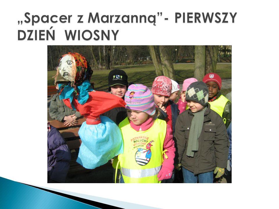 """""""Spacer z Marzanną - PIERWSZY DZIEŃ WIOSNY"""