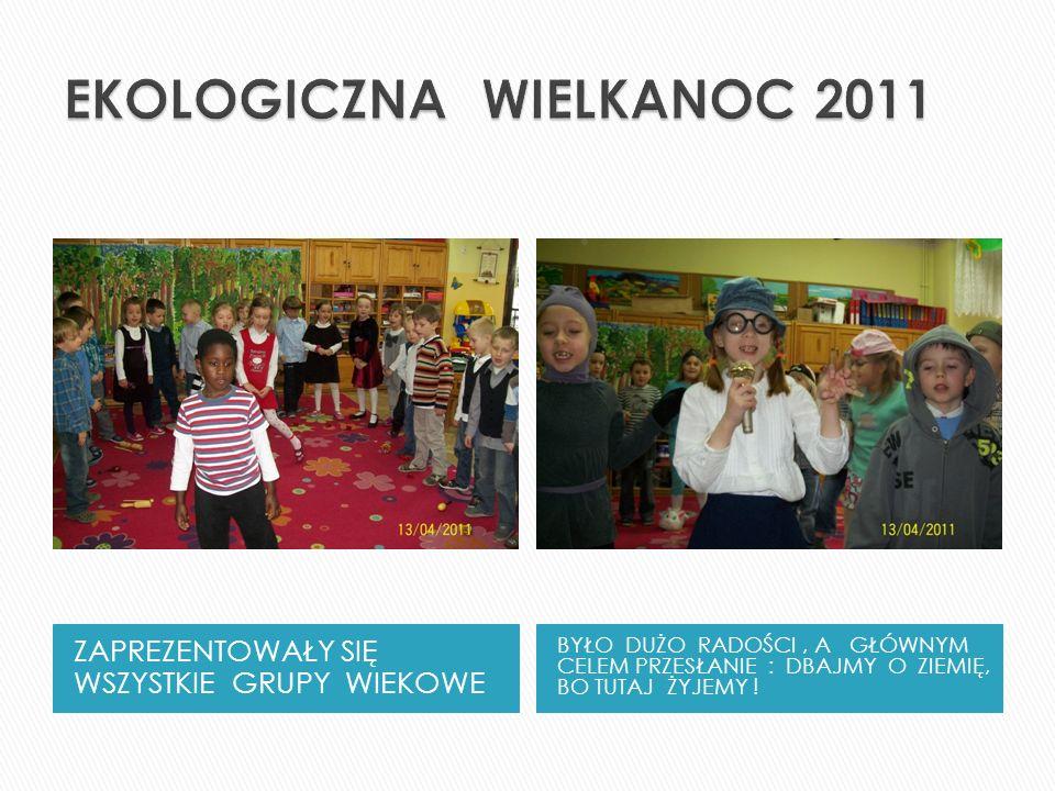 EKOLOGICZNA WIELKANOC 2011