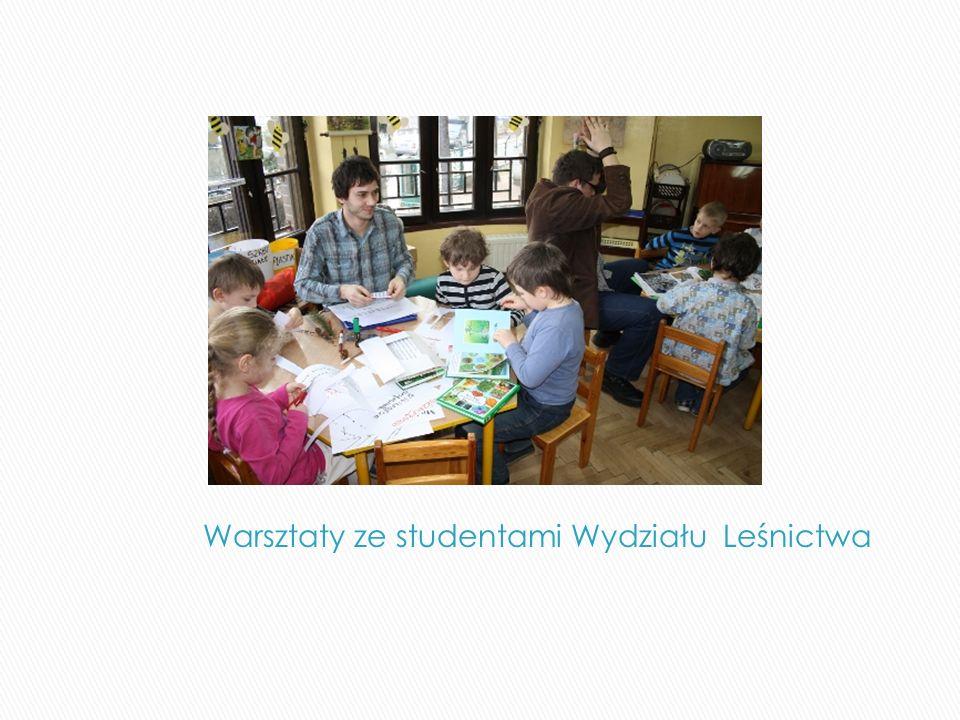Warsztaty ze studentami Wydziału Leśnictwa