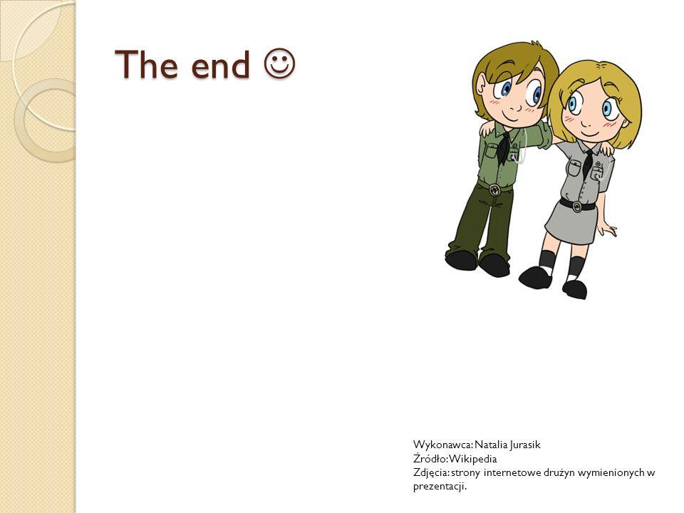 The end  Wykonawca: Natalia Jurasik Źródło: Wikipedia