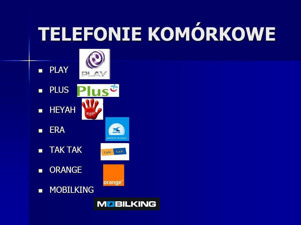 TELEFONIE KOMÓRKOWE PLAY PLUS HEYAH ERA TAK TAK ORANGE MOBILKING