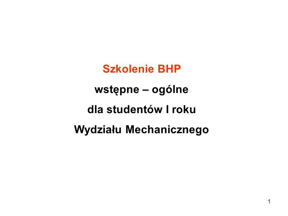 Wydziału Mechanicznego