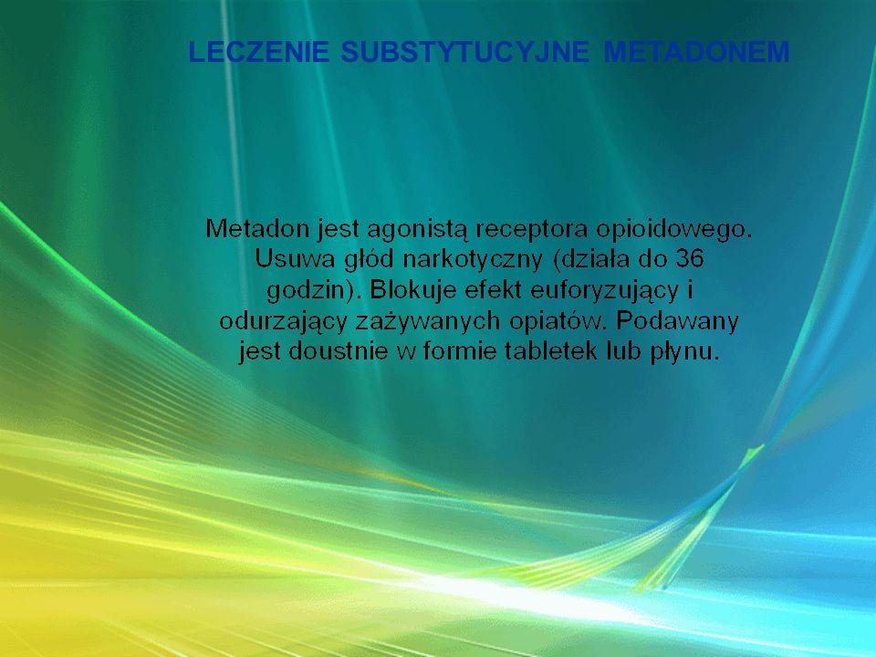 LECZENIE SUBSTYTUCYJNE METADONEM