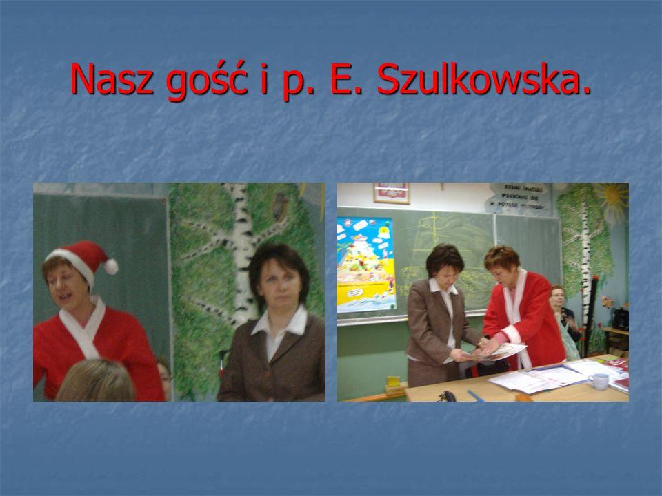 Nasz gość i p. E. Szulkowska.