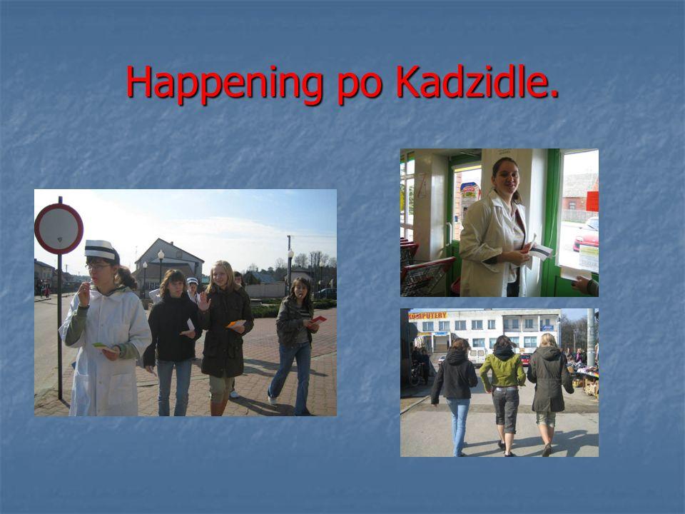 Happening po Kadzidle.