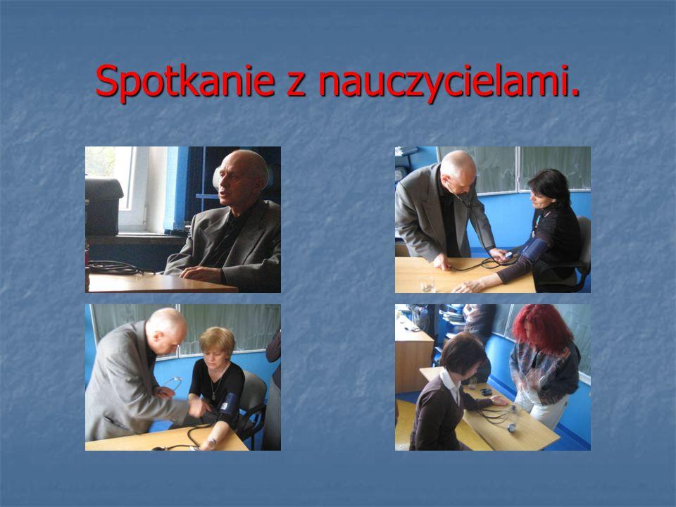 Spotkanie z nauczycielami.