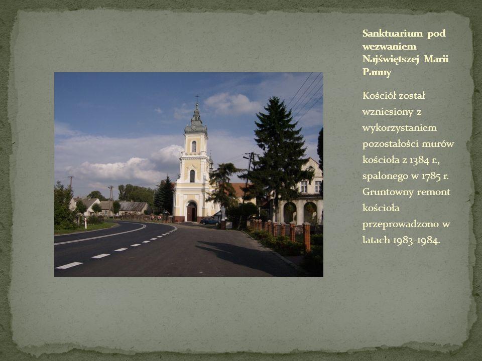 Sanktuarium pod wezwaniem Najświętszej Marii Panny