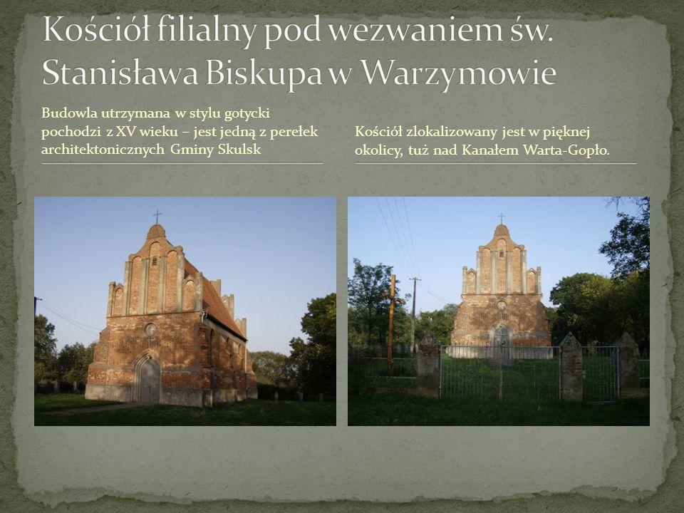 Kościół filialny pod wezwaniem św. Stanisława Biskupa w Warzymowie