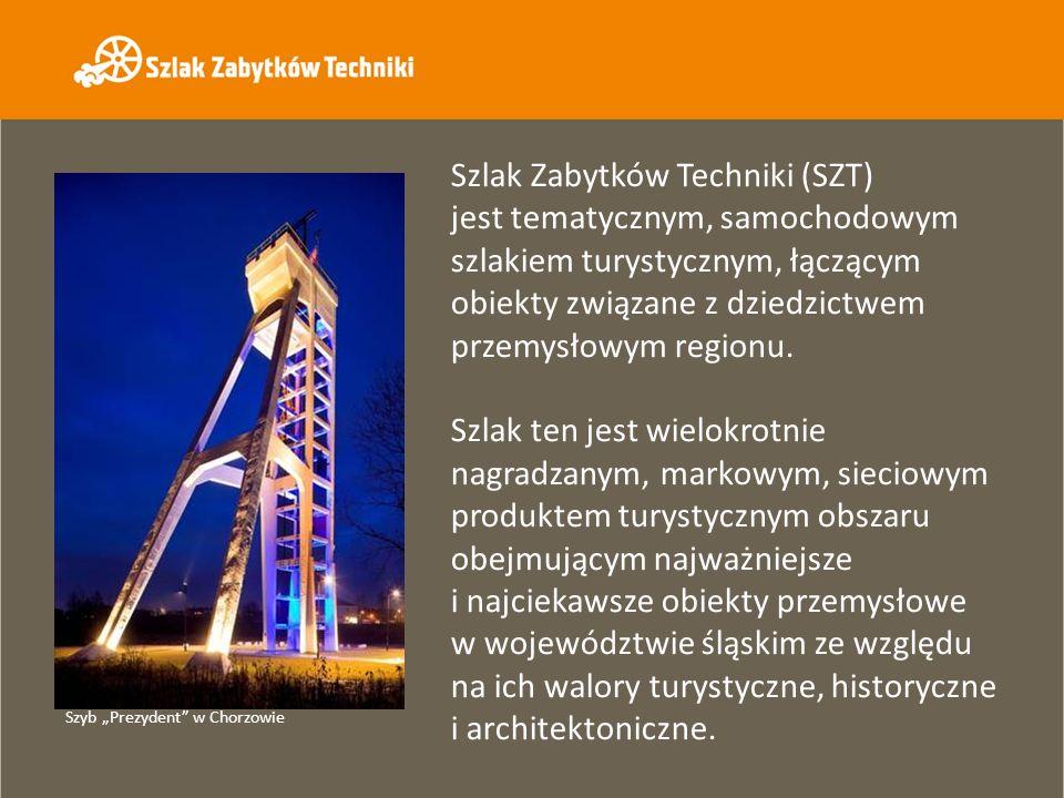 Szlak Zabytków Techniki (SZT) jest tematycznym, samochodowym szlakiem turystycznym, łączącym obiekty związane z dziedzictwem przemysłowym regionu.