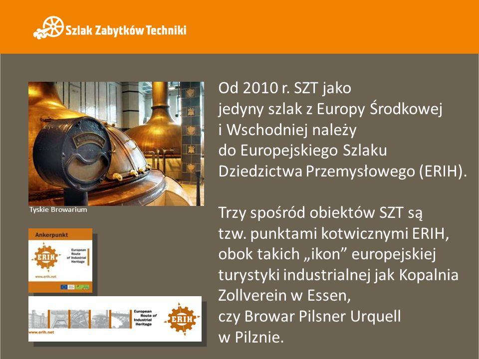 Od 2010 r. SZT jako jedyny szlak z Europy Środkowej i Wschodniej należy do Europejskiego Szlaku Dziedzictwa Przemysłowego (ERIH).