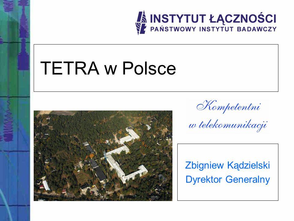 Zbigniew Kądzielski Dyrektor Generalny