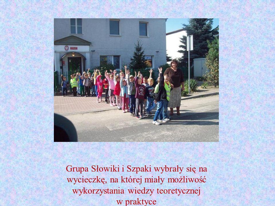 Grupa Słowiki i Szpaki wybrały się na wycieczkę, na której miały możliwość wykorzystania wiedzy teoretycznej w praktyce