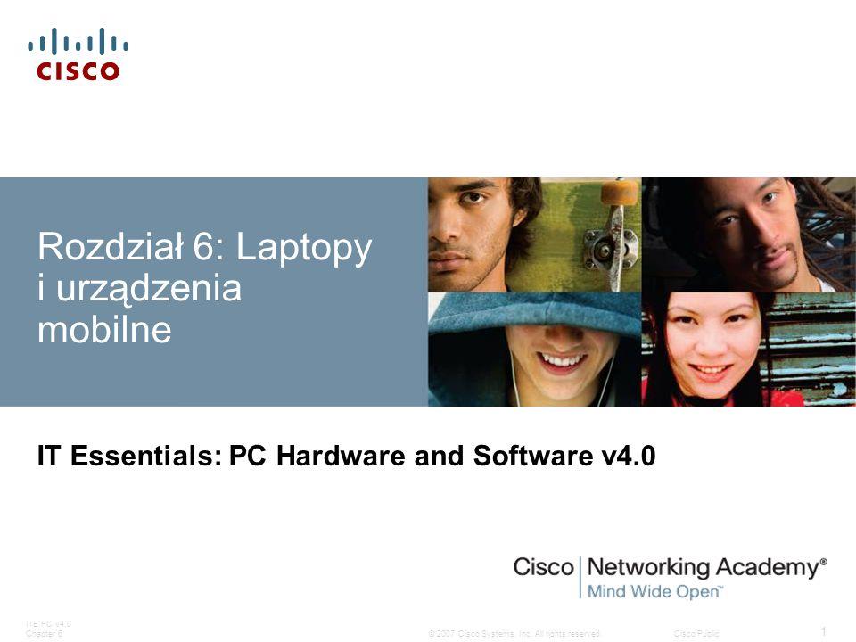 Rozdział 6: Laptopy i urządzenia mobilne