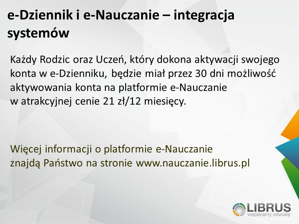 e-Dziennik i e-Nauczanie – integracja systemów