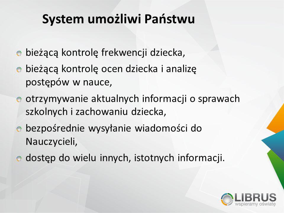 System umożliwi Państwu