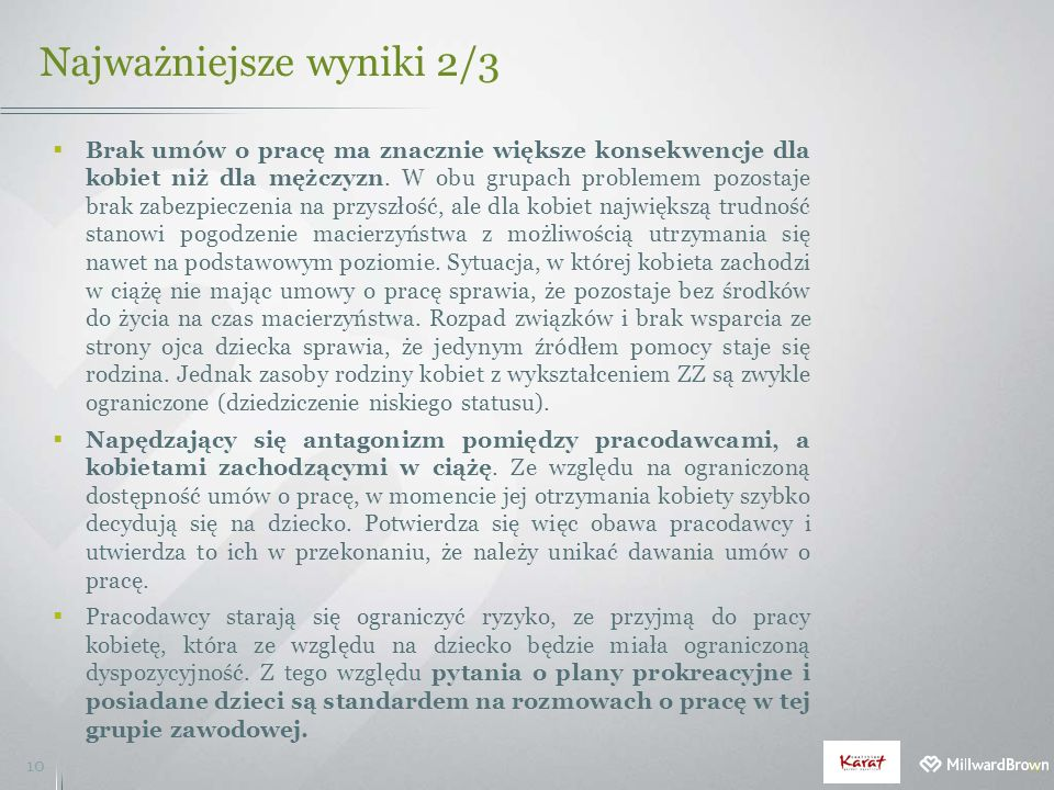 Najważniejsze wyniki 2/3