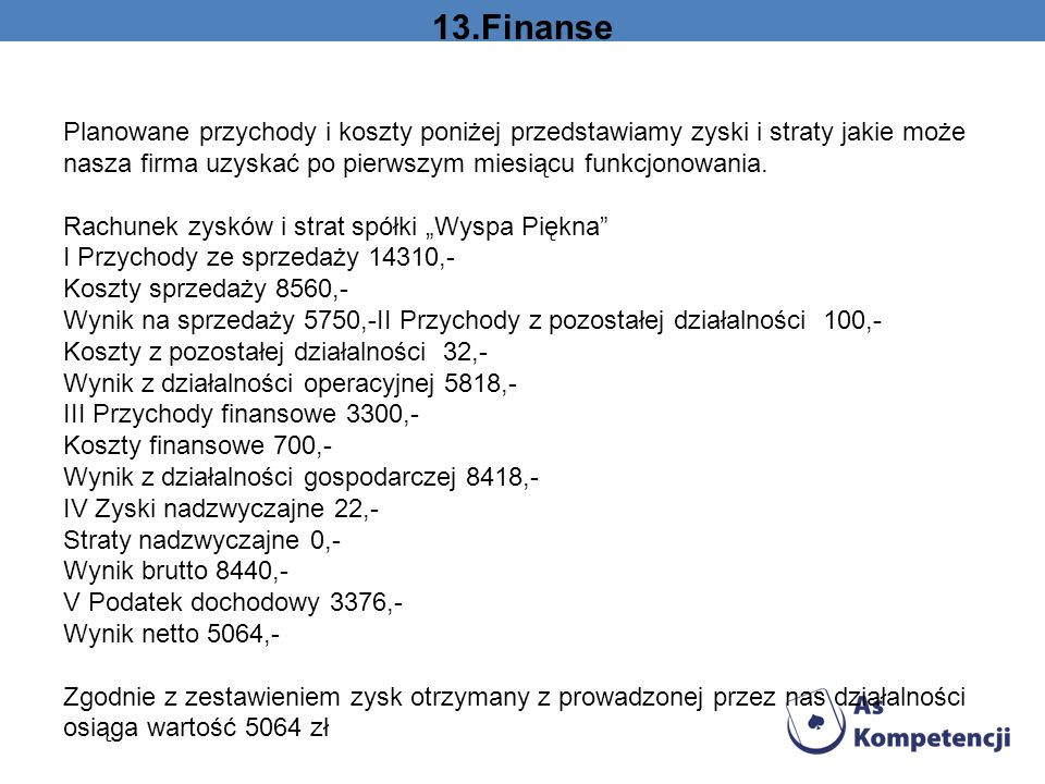 13.Finanse
