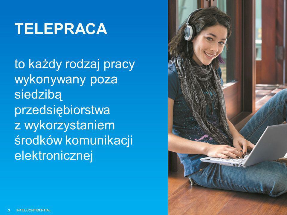 TELEPRACA to każdy rodzaj pracy wykonywany poza siedzibą przedsiębiorstwa z wykorzystaniem środków komunikacji elektronicznej