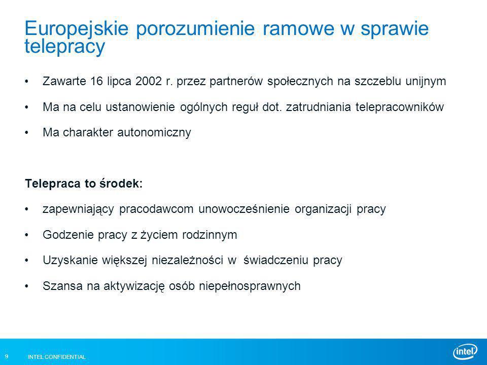 Europejskie porozumienie ramowe w sprawie telepracy