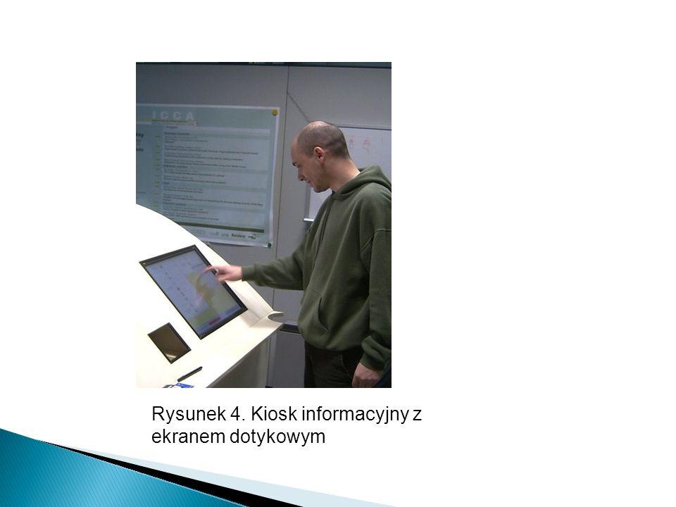Rysunek 4. Kiosk informacyjny z ekranem dotykowym