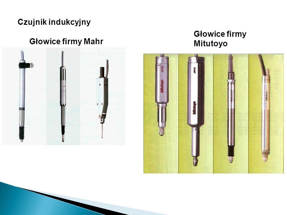 Czujnik indukcyjny Głowice firmy Mitutoyo Głowice firmy Mahr
