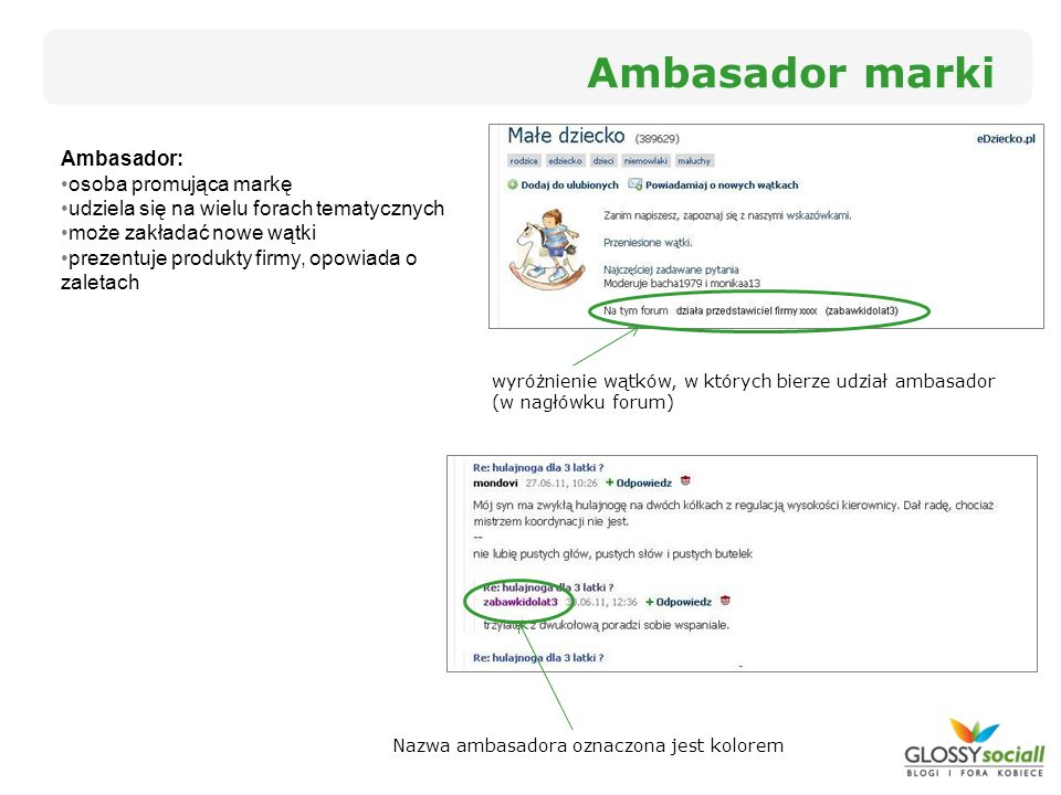 Ambasador marki Ambasador: osoba promująca markę