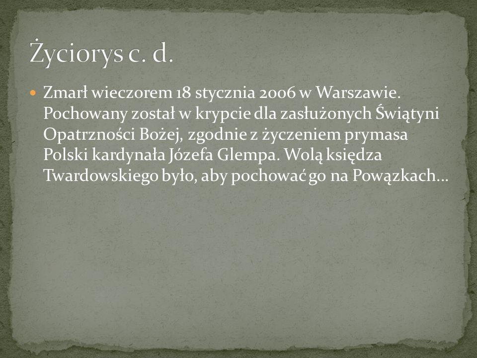 Życiorys c. d.
