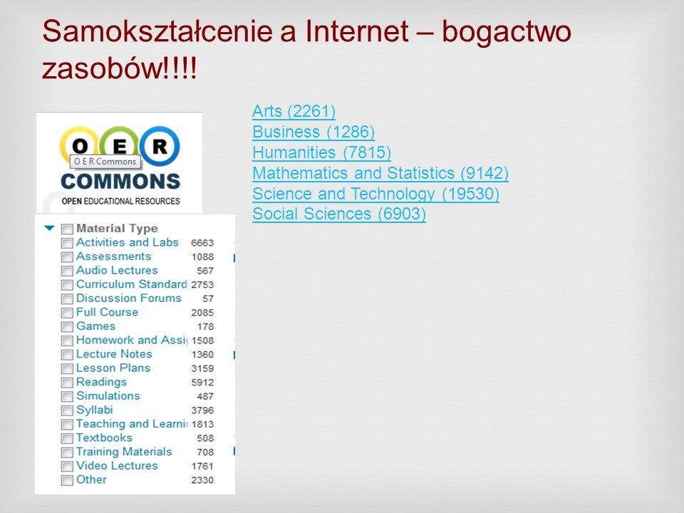 Samokształcenie a Internet – bogactwo zasobów!!!!