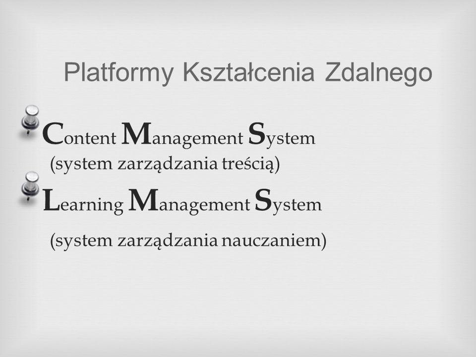 Platformy Kształcenia Zdalnego