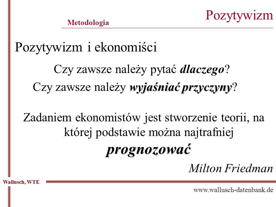 Pozytywizm i ekonomiści