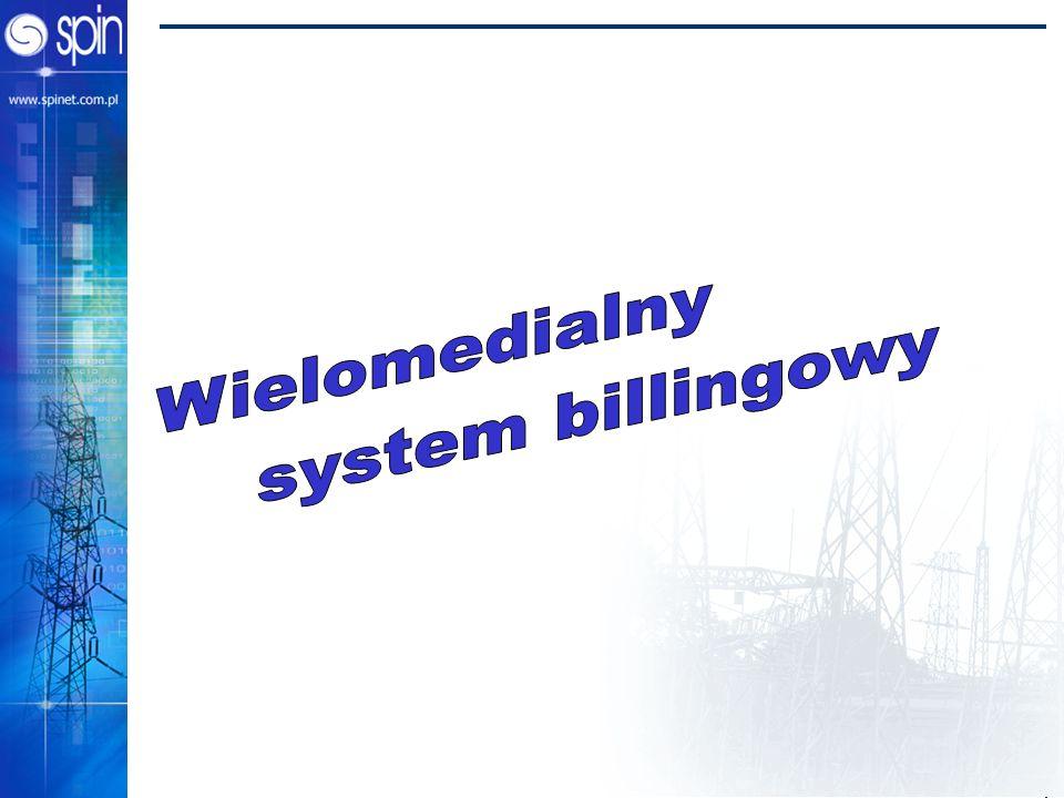 Wielomedialny system billingowy