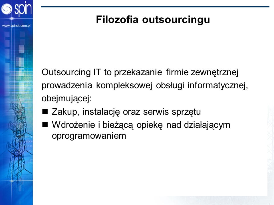 Filozofia outsourcingu