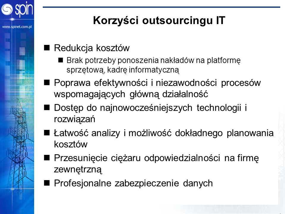 Korzyści outsourcingu IT