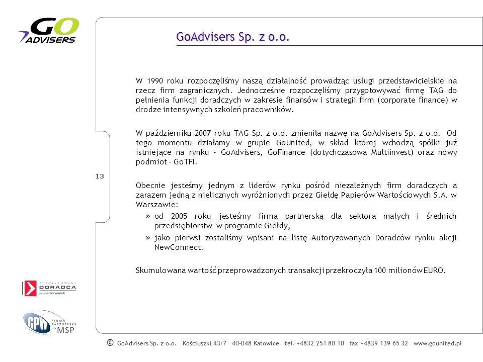 GoAdvisers Sp. z o.o.