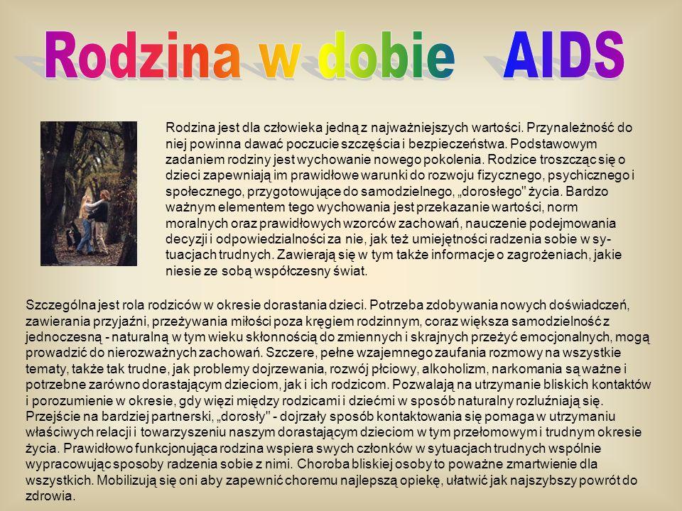 Rodzina w dobie AIDS