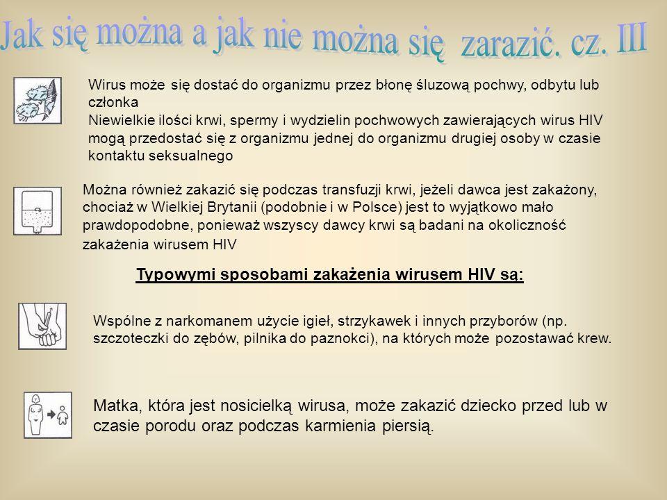 Jak się można a jak nie można się zarazić. cz. III