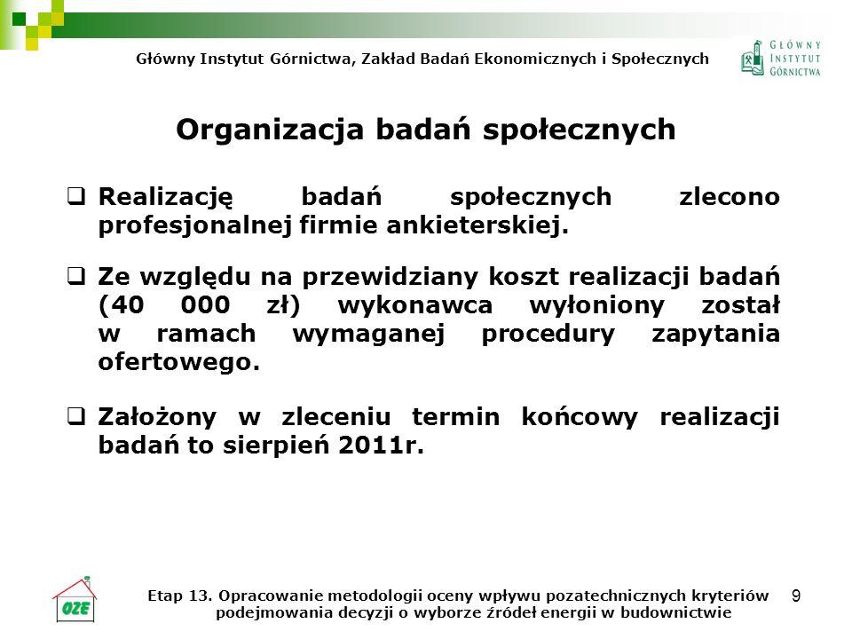 Organizacja badań społecznych