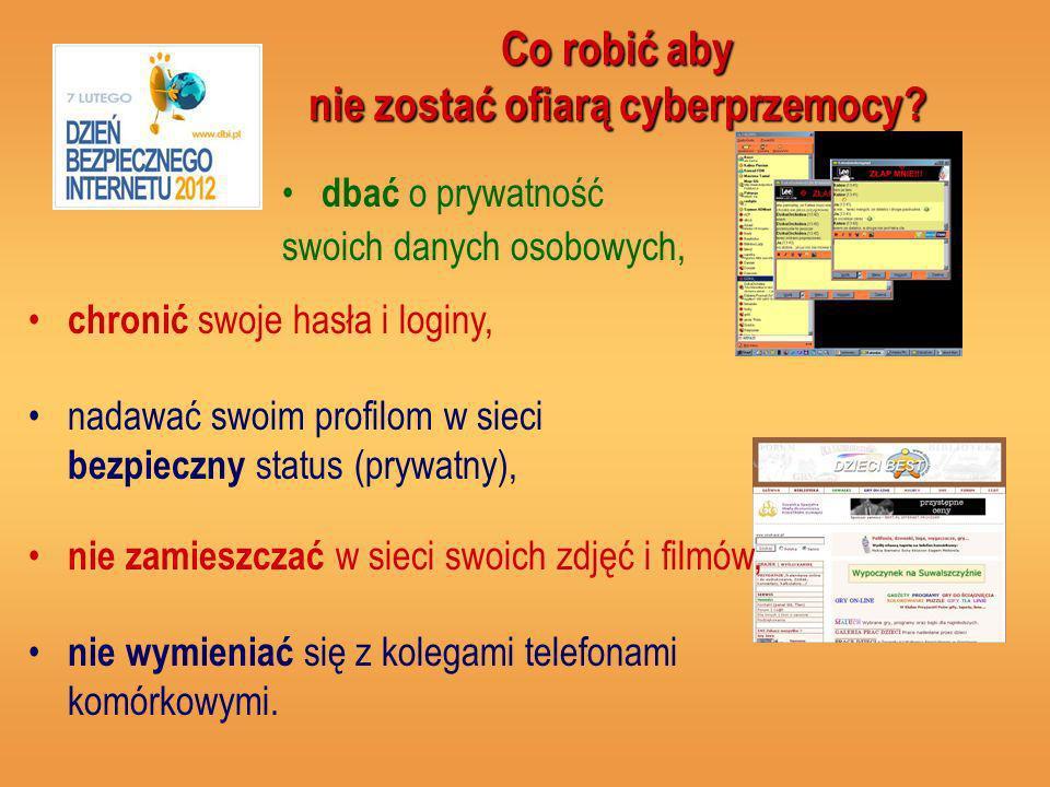 Co robić aby nie zostać ofiarą cyberprzemocy